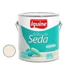 Tinta Acrílica Acetinada 3,6 Litros Brilho da Seda Branco Gelo - Ref. 262300301 - IQUINE