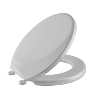 Assento Plástico Almofadado Suavit Cinza Claro - Ref.26910528 - TIGRE