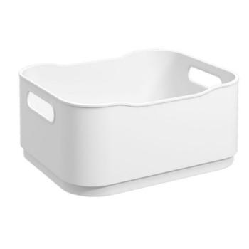 Cesta Plástica 38x32cm Fit Pequena Branca - Ref.10819/0007 - COZA
