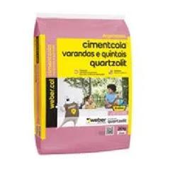 Argamassa Externa 20kg Varanda e Quintais Cinza - Ref.0309.00001.0020PA - QUARTZOLIT
