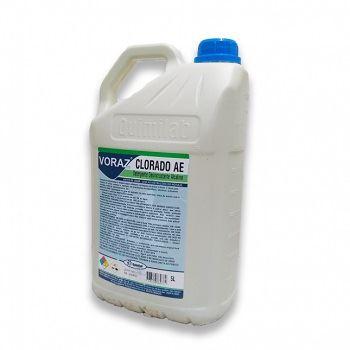 Detergente Alcalino 5 Litros Voraz Clorado AE - Ref.3085 - QUIMILAB