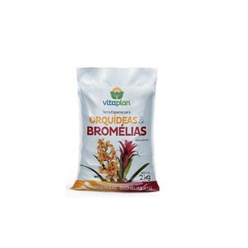 Adubo Terra Especial 2kg Orquídea & Bromélias - Ref.9001001-U - NUTRIPLAN