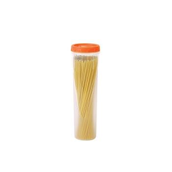 Pote Plástico 1 Litro Clic Redondo Alto com Tampa de Rosca - Ref.002618 - PLASUTIL