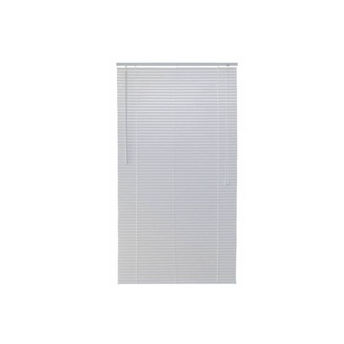 Persiana PVC 1,40x1,60m 25 mm Horizontal Branco - Ref. TFP6004 - TOP FLEX