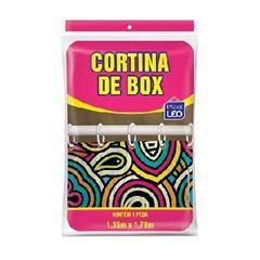 Cortina em Polietileno 1,35x1,78m para Box - Ref.615-E-207 - PLAST LEO