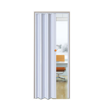 Porta Sanfonada PVC 0,60x2,10m Easy Branco - Ref. 05030501 - ARAFORROS