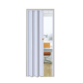 Porta Sanfonada PVC 0,70x2,10m Easy Branco - Ref. 05030502 - ARAFORROS