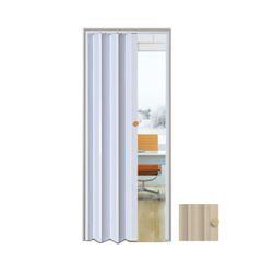 Porta Sanfonada PVC 0,70x2,10m Easy Bege - Ref. 05030602 - ARAFORROS