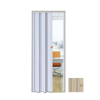 Porta Sanfonada PVC 0,80x2,10m Easy Bege - Ref. 05030603 - ARAFORROS