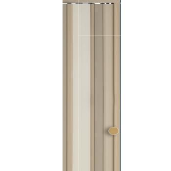 Porta Sanfonada PVC 0,90x2,10m Easy Bege - Ref. 05030604 - ARAFORROS