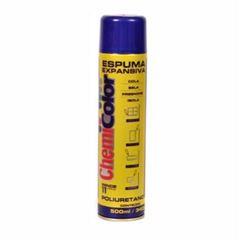Espuma Expansiva Spray Dourado 500ml - Ref. 680316 - CHEMICOLOR