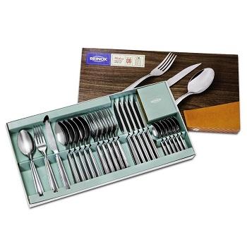 Faqueiro de Aço Inox com 24 Peças Modena Polido - Ref.5119/102 - BRINOX