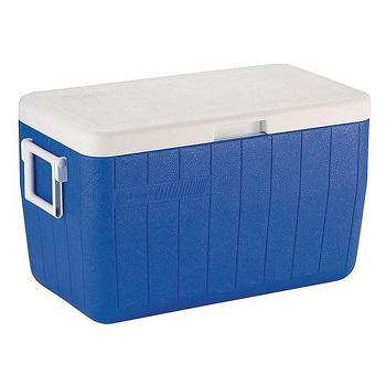 Caixa Térmica 45,4 Litros Coleman Azul - Ref. 101387481310 - INVICTA