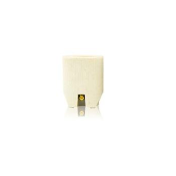 Soquete Porcelana E27 Liso - Ref. 40.10 - FOXLUX