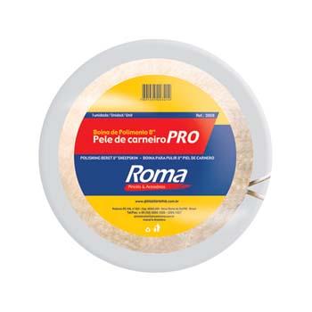 Boina Lã Polimento 5 127mm - Ref.100 5 - PINCEIS ROMA