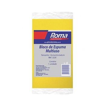 Espuma 13X22X6cm Pedreiro - Ref.3226 - PINCEIS ROMA