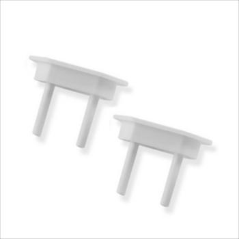 Protetor Plástico Tomada 8 Peças - Ref.3008 - ROMAZI