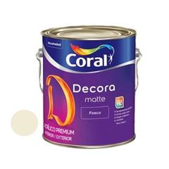 Tinta Acrílica Fosca 3,6 Litros Decora Palha - Ref. 5239487 - CORAL