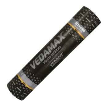Manta Asfáltica Alumínio 3mmx1mx10m VEDAMAX II - Ref.131903 - VEDACIT