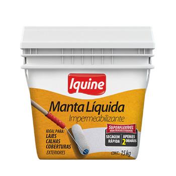 Impermealizante Acrílico Manta Líquida 15kg - Ref.245300024 - IQUINE