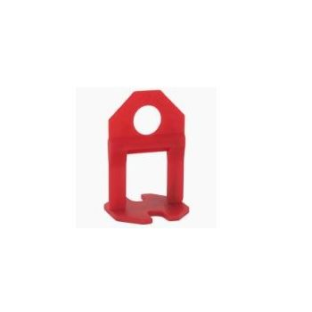 Espaçador de Piso 1,5mm 50 Peças Fit Vermelho - Ref.NPB15PCT50CLS - MOLDIMPLAS