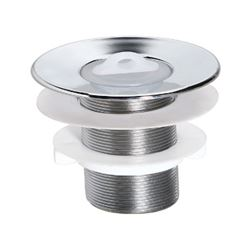 Válvula Lavatório PVC 7/8 Cromado - Ref.1525B-1 - LUCONI