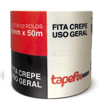 Fita Crepe 48mmx50m Uso Geral 423 - Ref.00355200130 - ADERE