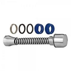 Extensor em ABS para Torneira 14cm Arejador com Rosca Cromado - Ref. 110205-21 - BLUKIT