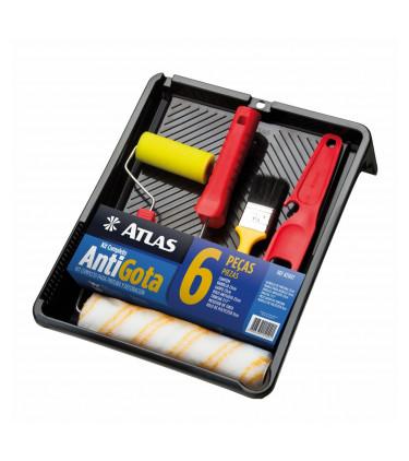Kit Pintura 6pcs Antigota - Ref. AT1017 - ATLAS