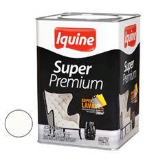 Tinta Acrílica Fosca 18 Litros Super Premium Branco Neve - Ref. 261300205 - IQUINE