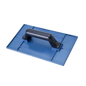 Desempenadeira PVC 17x30cm Lisa Azul - Ref. 409032 - MOMFORT