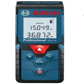 Medidor de Distância a Laser 40m GLM40 - Ref. 0601072900000 - BOSCH