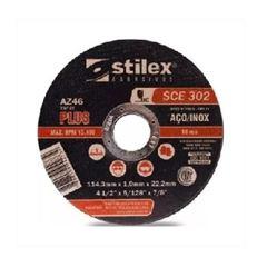Disco Corte 41/2 Inox SCI/E 202/302 - Ref. DC453 - STILEX