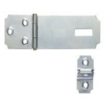 Porta Cadeado 3,5 Zincado - Ref.3003 - METALVI