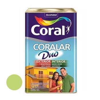 Tinta Acrílica Fosca Coralar Duo Verde Limão 18 Litros - Ref. 5271596 - CORAL