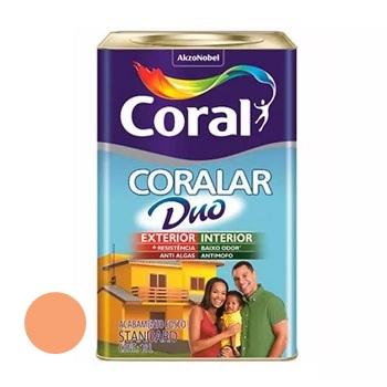 Tinta Acrílica Fosca Coralar Duo Laranja Maracatu 18 Litros - Ref. 5271666 - CORAL