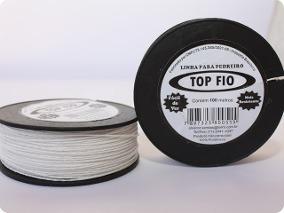 Linha Nylon 0,80mmx100m Pedreiro Trançada - Ref. 81 - TOP FIO