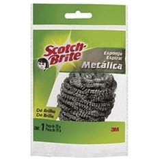 Esponja de Metal Espiral Scotch Brite - Ref.HB004412837 - 3M