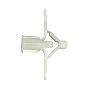 Bucha Polipropileno Fly2 Parafuso 4A16mm Saco com 25 Peças - Ref.35-F2G - FIX ALL