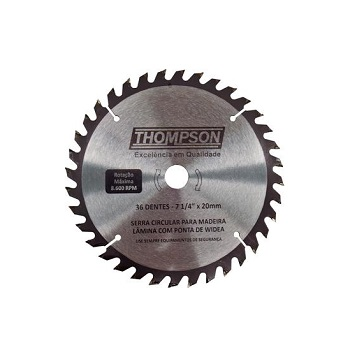 Disco Serra 24 Dentes 185mm Widea - Ref. 586 - THOMPSON
