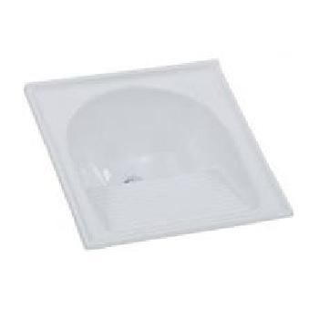 Tanque Granito Sintético 60x60cm Simples Branco Liso - Ref.7898591790768 - BELLA PIA