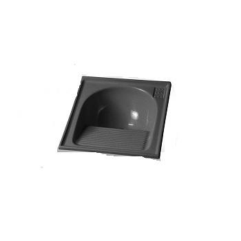 Tanque Sintetico 60x60cm Simples Cinza Prime - Ref. 7898591792397 - BELLA PIA
