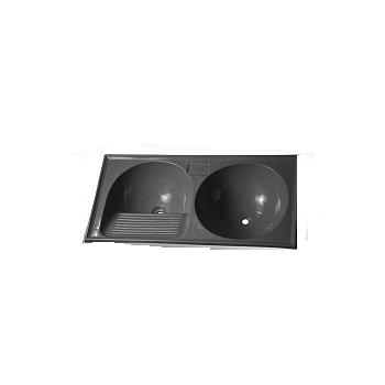 Tanque Sintetico 105x50cm Circular Cinza Prime - Ref. 7898591792342 - BELLA PIA