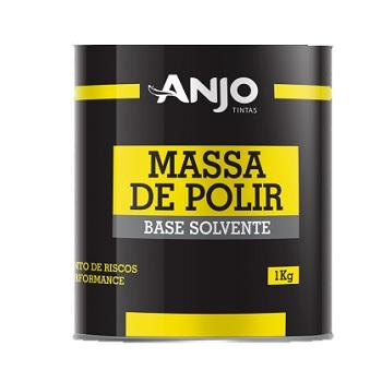 Massa De Polir 1kg N°2 Branca - Ref. 001298-33 - ANJO TINTAS
