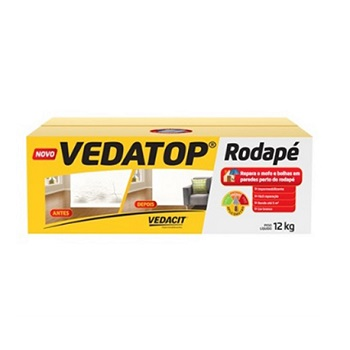 Impermeabilizante Rodapé 12kg Vedatop - Ref.112001 - VEDACIT