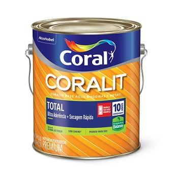 Base MF Tinta Esmalte Acetinado Coralit Zero 3,2 Litros - Ref. 5267032 - CORAL
