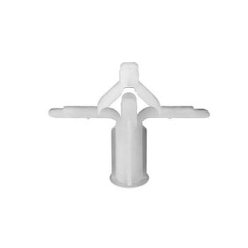 Bucha Fixadora Plástica 1 Gesso Saco 50 Peças Branca - Ref.52401050 - IV PLAST