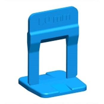 Espaçador Piso 1mm 100PCS Nivelamento Azul - Ref. 61534 - CORTAG