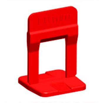 Espaçador Piso 1,5mm 100PCS Nivelamento Vermelho - Ref. 61535 - CORTAG
