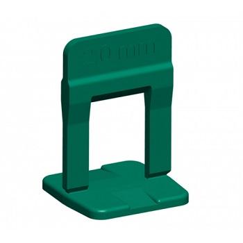 Espaçador Piso 2mm 100PCS Nivelamento Verde - Ref. 61536 - CORTAG